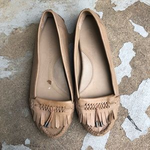 Franco Sarto Leather Driving Moccasins